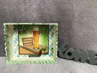 Niedliche Korbbox aus Holz. * Regal * Teelicht * Geschenk * Servietten * Unikat - bayrisch