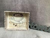 Niedliche Korbbox aus Holz. * Regal * Teelicht * Geschenk * Servietten * Unikat - cafe